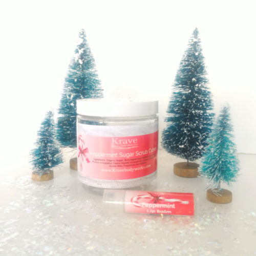 Peppermint Bath set