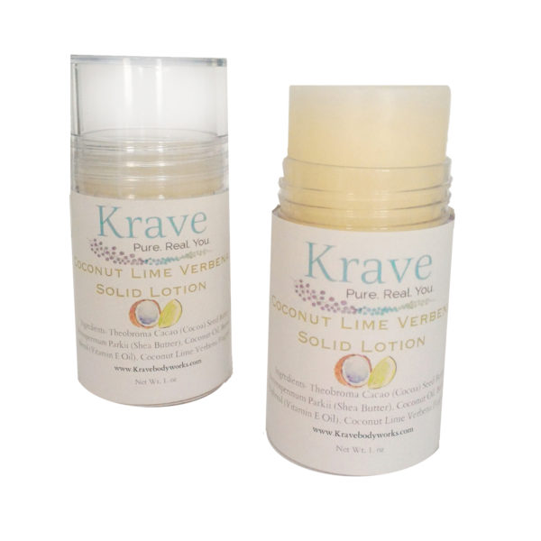 Coconut Lime Solid lotion